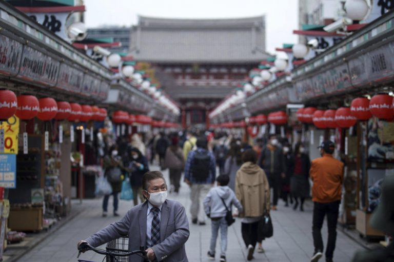 Japan's capital sees prices fall most in over 8 years as COVID-19 pain persists