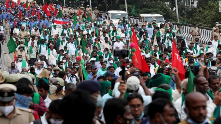 Thousands of people are protesting with farmers in India. This is why you should care