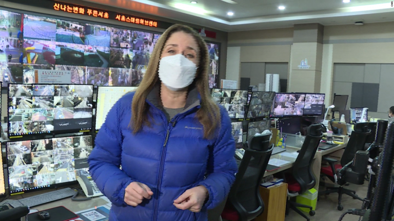 See inside Korean CCTV unit contact tracing citizens