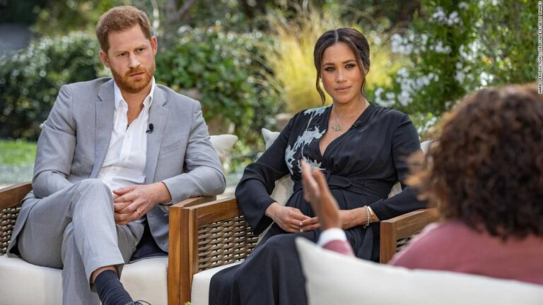Prince Harry and Meghan sit down with Oprah