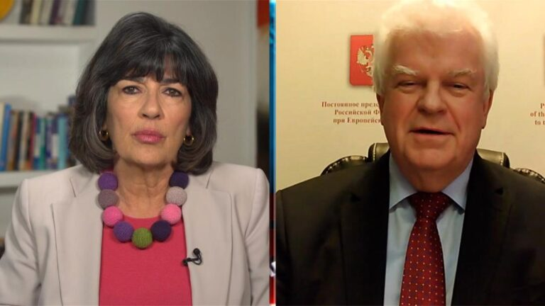 Amanpour to Russian diplomat: Is Putin afraid of Navalny?