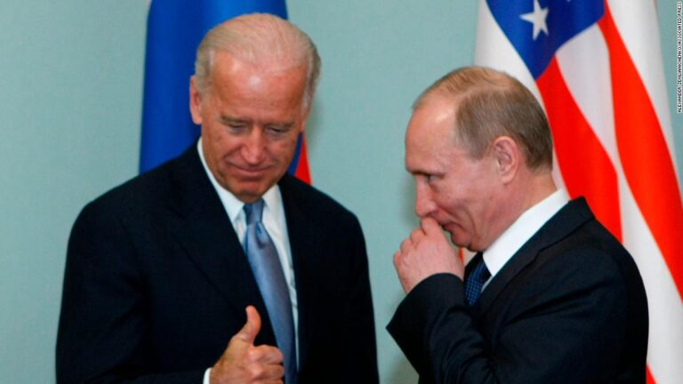 Biden rarely has nice things to say about Putin