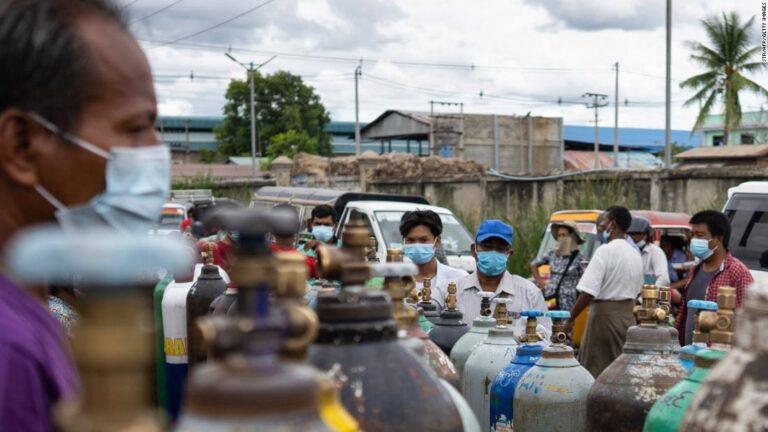 Myanmar doctors hunted by junta as Covid crisis ravages country