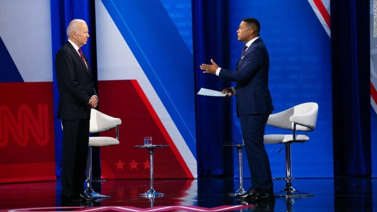 Vaccine hesitancy and economic recovery plans: Takeaways from Biden's town hall